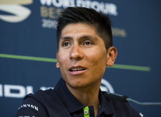 Nairo Quintana: The stages in the north are going to be difficult