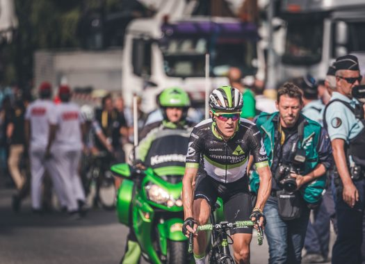 Tense moments for Julien Vermote and Serge Pauwels in flight to Amsterdam