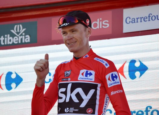 Vuelta a España - Chris Froome: I wanted to avoid time splits