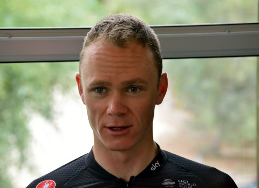 Giro d'Italia - Chris Froome: I'm just glad I'm not more injured after today