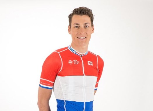 Groupama-FDJ restores traditional Dutch Champion's design for Ramon Sinkeldam