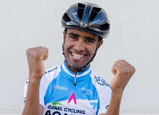 The fairy tale story of an Eritrean refugee and Israel Cycling Academy