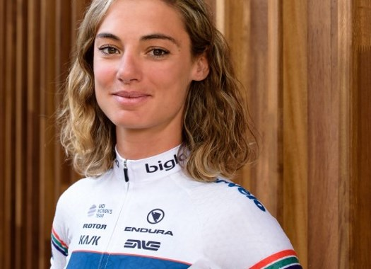 Ashleigh Moolman-Pasio happy with second place at Fleche Wallonne Feminine