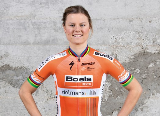 Amalie Dideriksen takes second victory in a row at Boels Ladies Tour