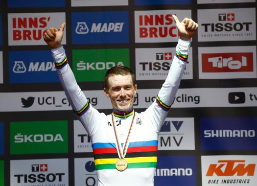 World Championships - Rohan Dennis: You are never sure until Tom Dumoulin crosses the line