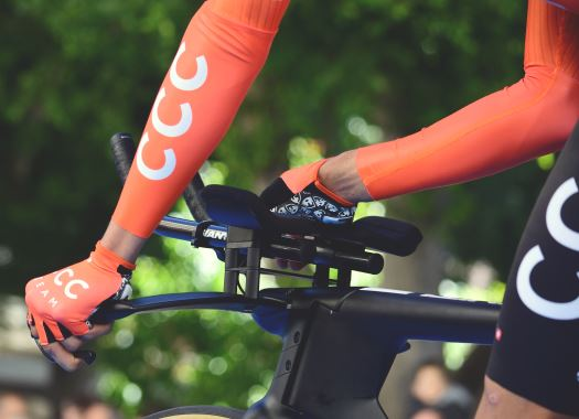 Patrick Bevin leads CCC Team at Tour Down Under