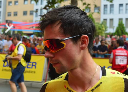 Primoz Roglic extends contract with Jumbo-Visma until 2023